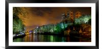 Durham Lumiere Panoramic, Framed Mounted Print