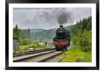 North Yorks Moors Railway, Framed Mounted Print