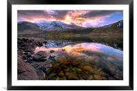 Wastwater Reflections, Framed Mounted Print