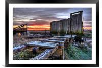 Sunrise At Skippool Creek, Framed Mounted Print