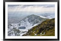 Brown Pike Views, Framed Mounted Print