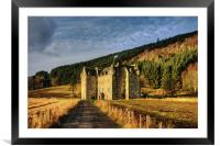 Clan Menzies Castle, Framed Mounted Print