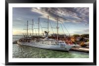 Club Med 2, Framed Mounted Print