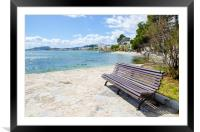 Pollensa Bay Viewpoint, Framed Mounted Print