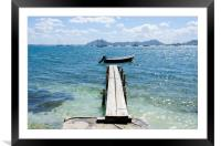 Walk The Plank Puerto Pollensa, Framed Mounted Print