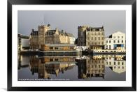 Mirrored, Framed Mounted Print