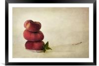 act of balance, Framed Mounted Print