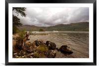 Loch Lomond Scotland, Framed Mounted Print