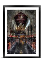 The Priory - Lancaster, Framed Mounted Print