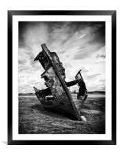 Decayed and Neglected, Framed Mounted Print