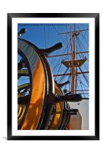 Before the mast., Framed Mounted Print