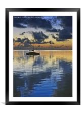 Dawn., Framed Mounted Print