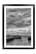 Bridlington Harbour, Framed Mounted Print