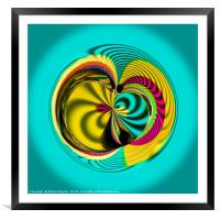Variations in the sphere, Framed Mounted Print