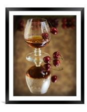Cherry Brandy, Framed Mounted Print