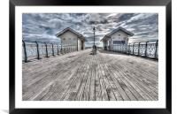 Penarth Pier Painterly, Framed Mounted Print
