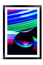 The Light Painter 17, Framed Mounted Print