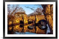 Bishops Bridge, Framed Mounted Print