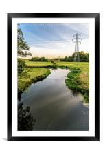 Wensum Valley, Framed Mounted Print