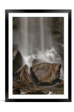 Rocks n Water., Framed Mounted Print