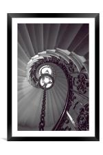 Chained up, Framed Mounted Print