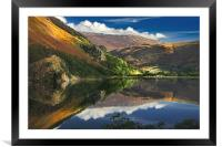 morning by Llyn Gwynant, Framed Mounted Print