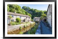 Castleton, Derbyshire, Framed Mounted Print