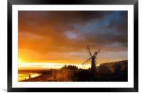 The summer solstice, Framed Mounted Print