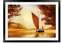 The Wherry Albion, Framed Mounted Print