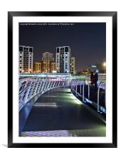 Bridge of Dreams, Framed Mounted Print