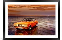 Cortina on the Causeway, Framed Mounted Print