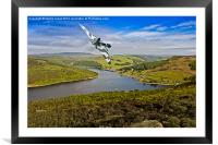 Olympus Thunder over the Bower, Framed Mounted Print