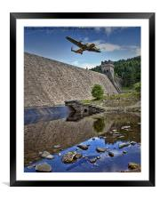 Up and Over!, Framed Mounted Print