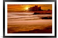 Harkess Rocks at Sunrise, Framed Mounted Print