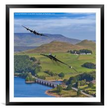 Avro Thunder, Framed Mounted Print