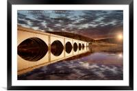 Lancasters over the Bridge, Framed Mounted Print