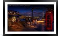 Lambeth Evening Walk, Framed Mounted Print