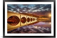 Ashopton Sunrise, Framed Mounted Print
