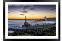A Derbyshire Dawn over the Hope Valley, Framed Mounted Print