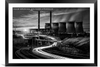 Power Generation - Yorkshire Style, Framed Mounted Print