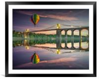 Time to Reflect , Framed Mounted Print