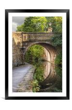 Bridge 225, Framed Mounted Print