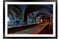 The Dark Arches, Framed Mounted Print