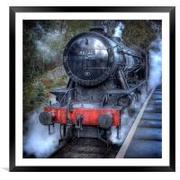 Under Steam Again., Framed Mounted Print