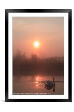 Peace of dawn 2, Framed Mounted Print