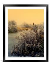 FROST, Framed Mounted Print