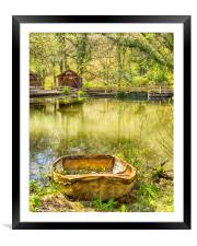 All aboard The Jollyboat, Framed Mounted Print