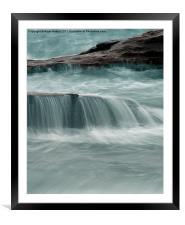Ocean, Framed Mounted Print