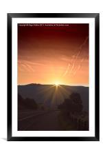Star Light, Framed Mounted Print