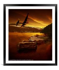 First Light, Framed Mounted Print